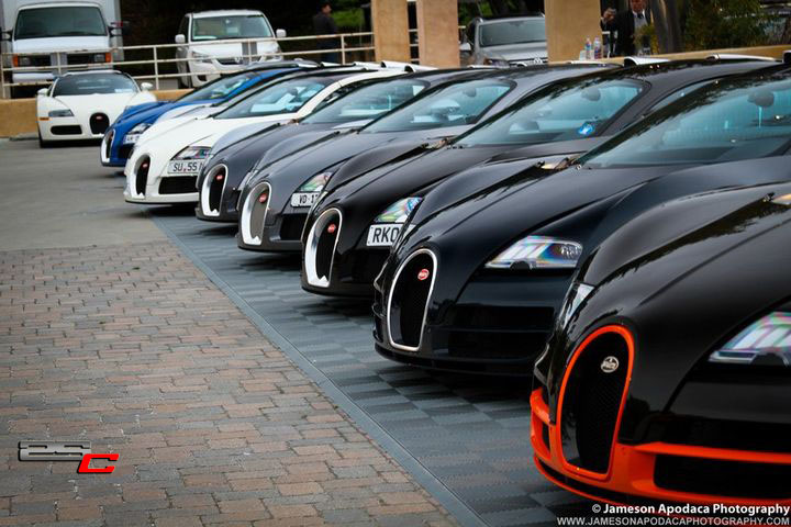 never seen this much bugattis in one place 2 second club. Cars Review. Best American Auto & Cars Review