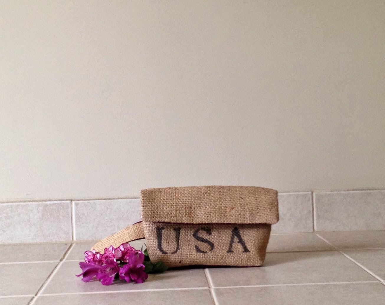 USA clutch - linaandvi.blogspot.com