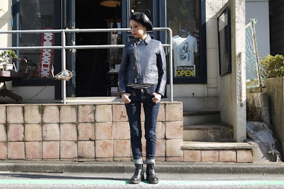 ROYAL PUSSY×blackmaens / LEATHER RIDERS JACKET #3