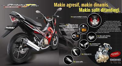 Harga dan Spesifikasi Satria FU 150 Terbaru 2013