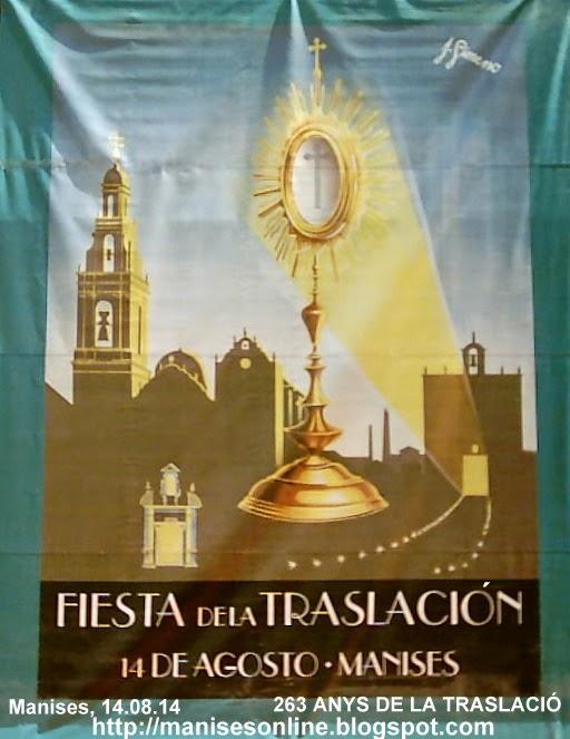 FESTA DE LA LA TRASLACIÓ EL DIVENDRES 14 D'AGOST