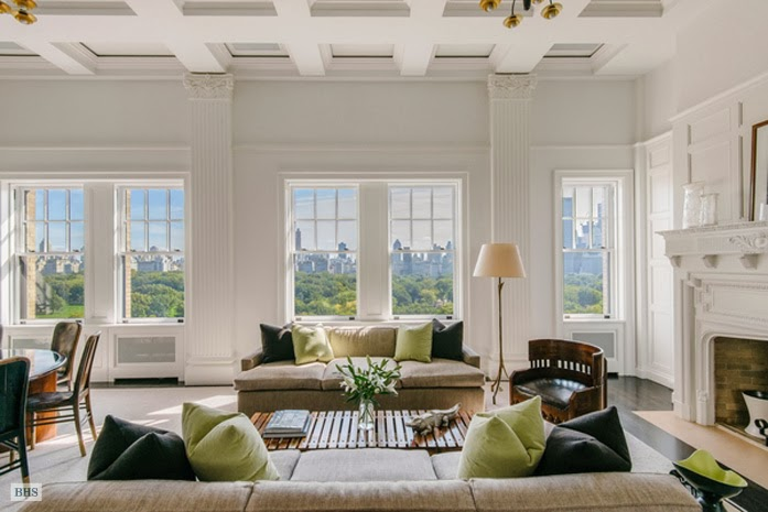 48 million dollar park view penthouse see this house for Million dollar apartments nyc
