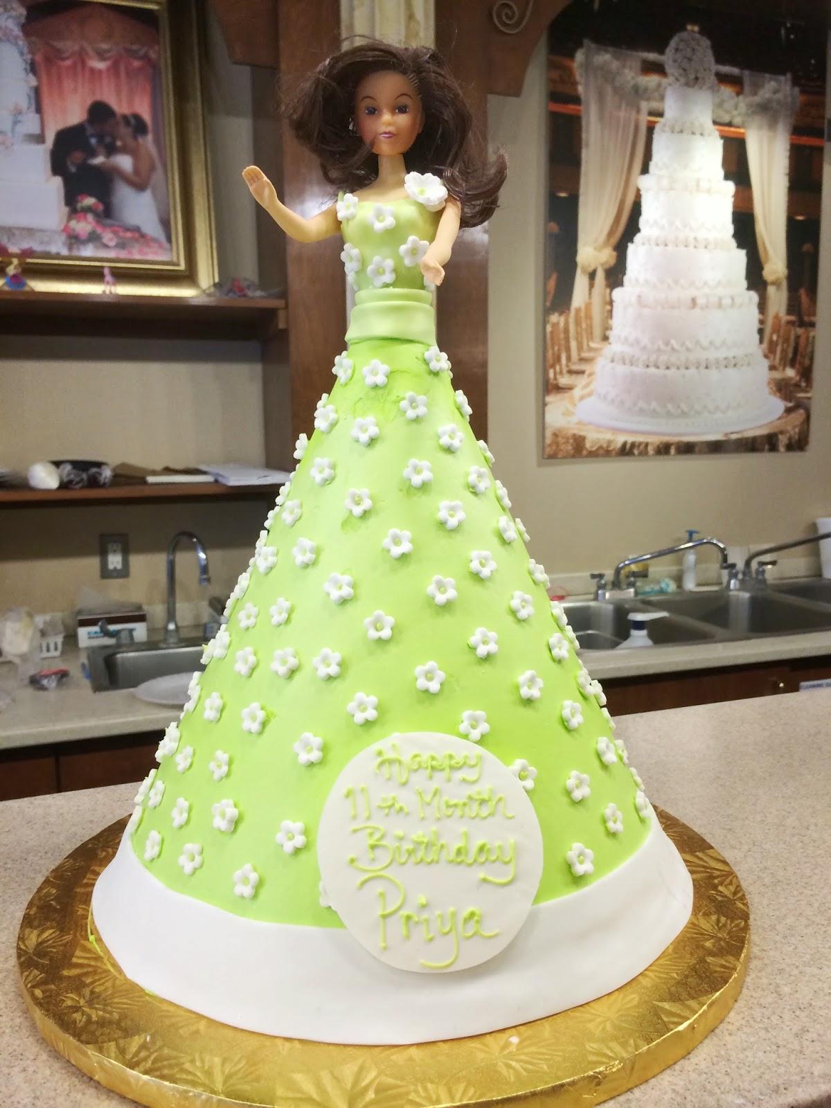 Cake Pic Priya : Vijay Madala, My Story: Priya s 11th Month Pictures