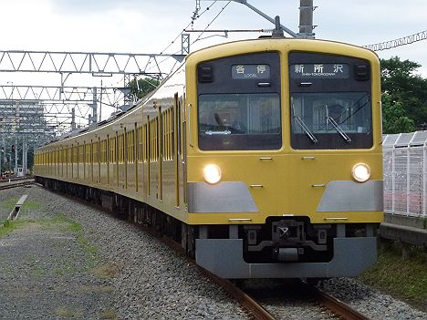 西武新宿線 各停 新所沢行き 新101系