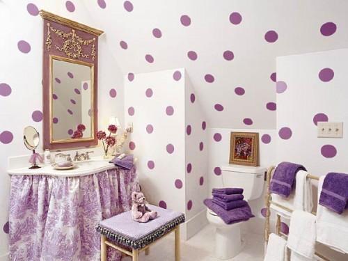 Diseno De Baños Para Ninas:Ideas para el diseño del cuarto de baño de niñas