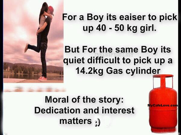 Difference between boy and girl's love