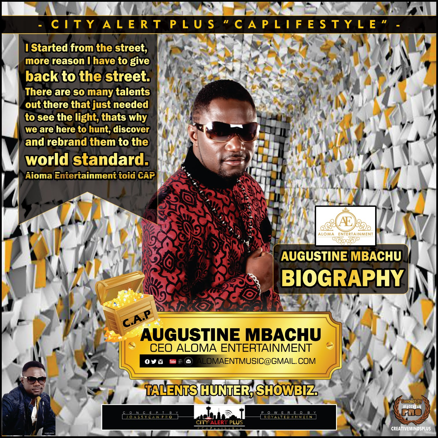 Augustine Mbachu Biography