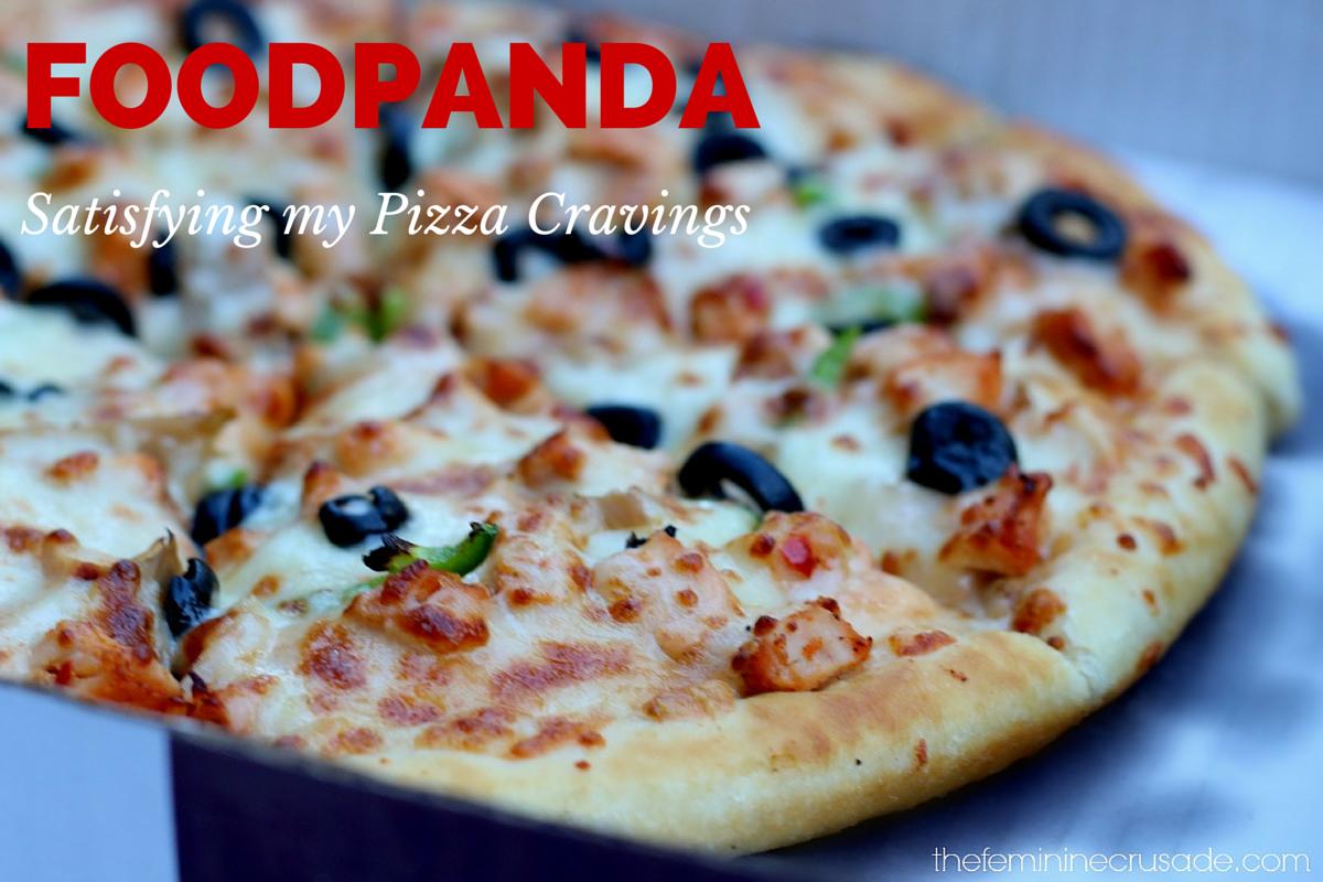 Foodpanda - Satisfying My Pizza Cravings