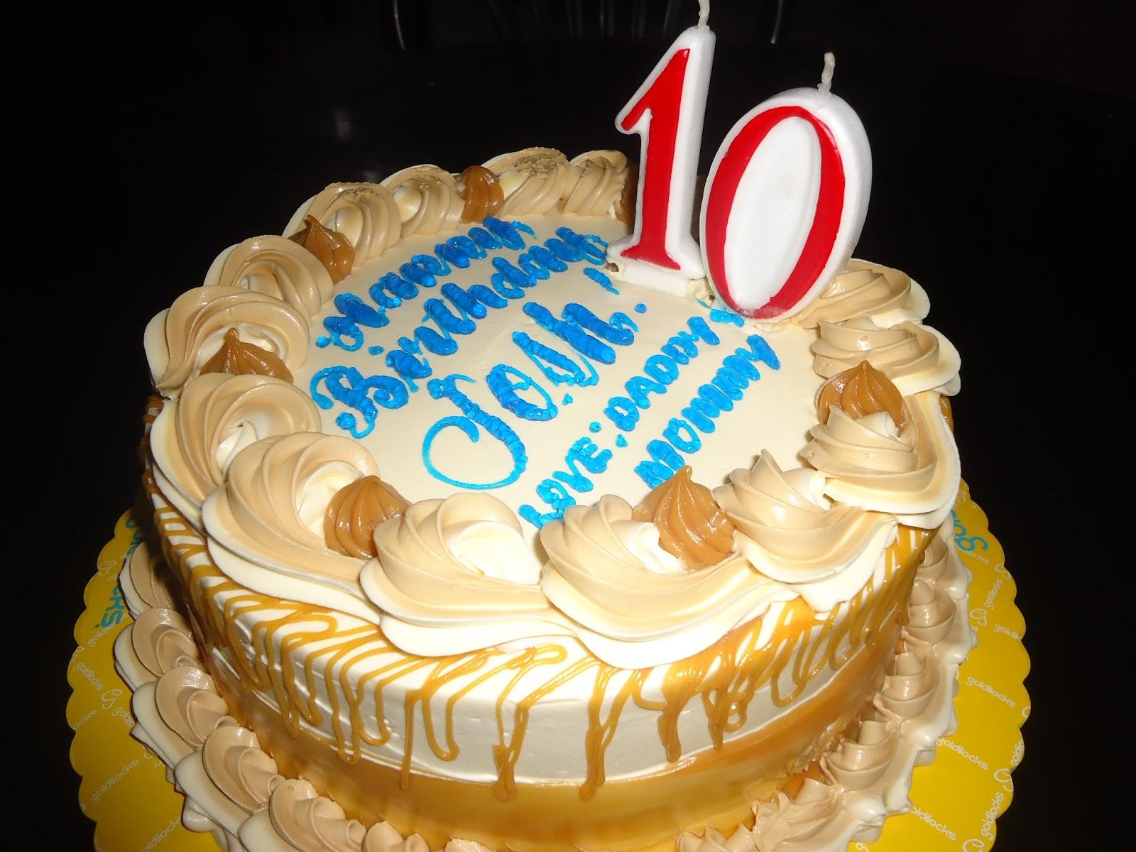 Feel At Home Luscious Caramel Cake For Josh Birthday