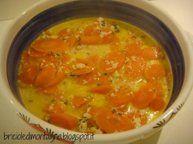 un grazie a mimma: carote al latte in pentola a pressione