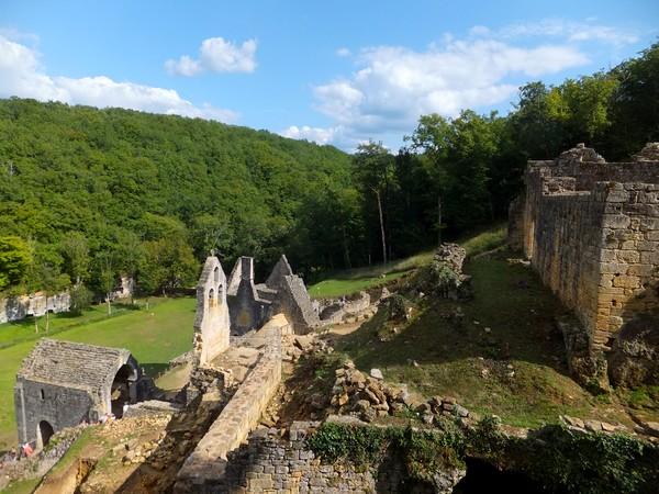dordogne périgord château commarque castrum Eyzies-de-Tayac-Sireuil Eyzies
