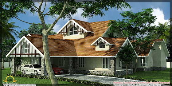 5500 Sq. Ft. House Elevation