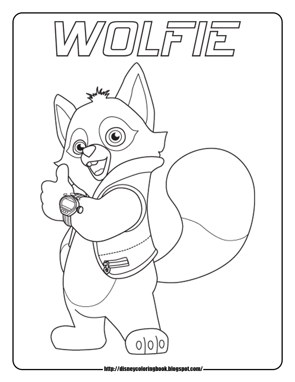 Disney Coloring Pages and Sheets for Kids: Special Agent Oso 1: Free ...