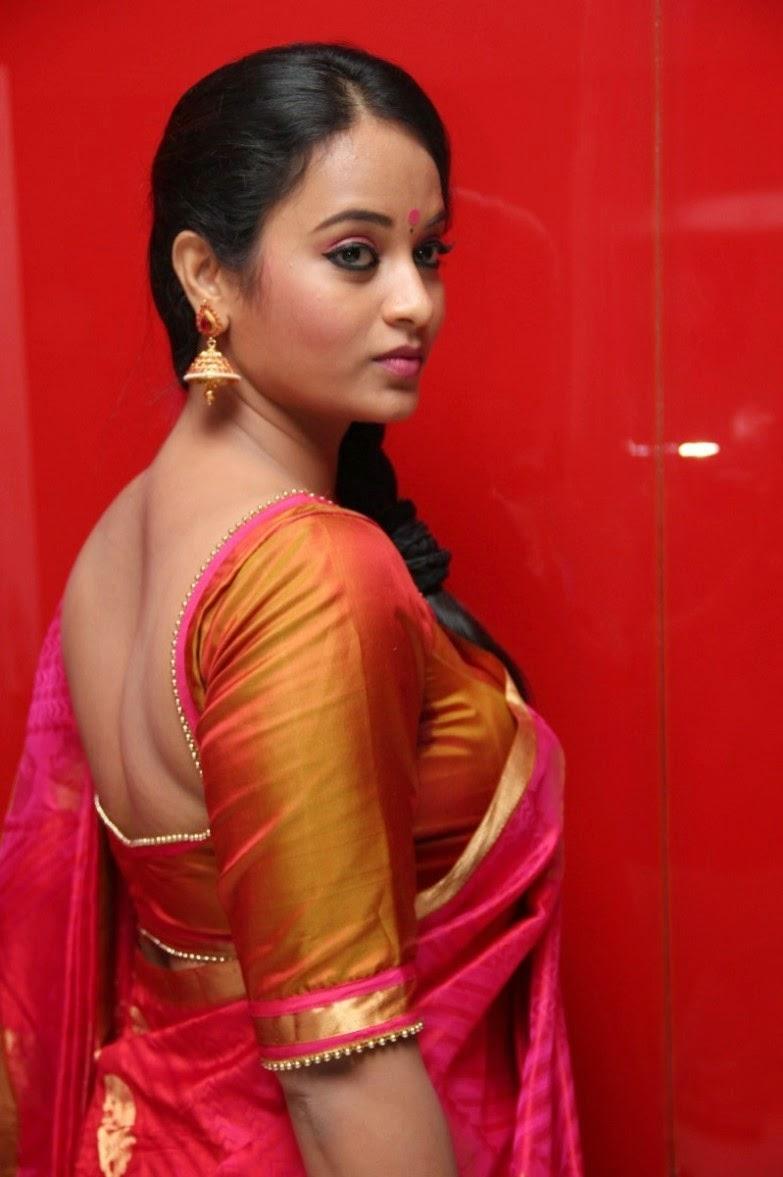 Actress Suja Varunee Hot Saree Side View HD Photos ~ ACTRESS RARE ...