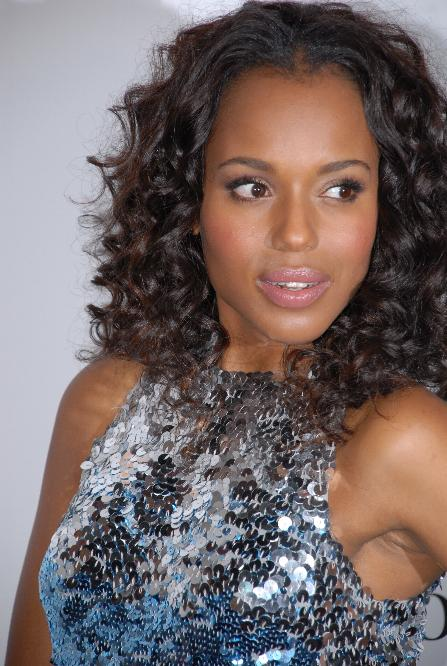 American Actress Kerry Washington   Super WAGS - Hottest