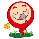 emoticones de peluche en las flores