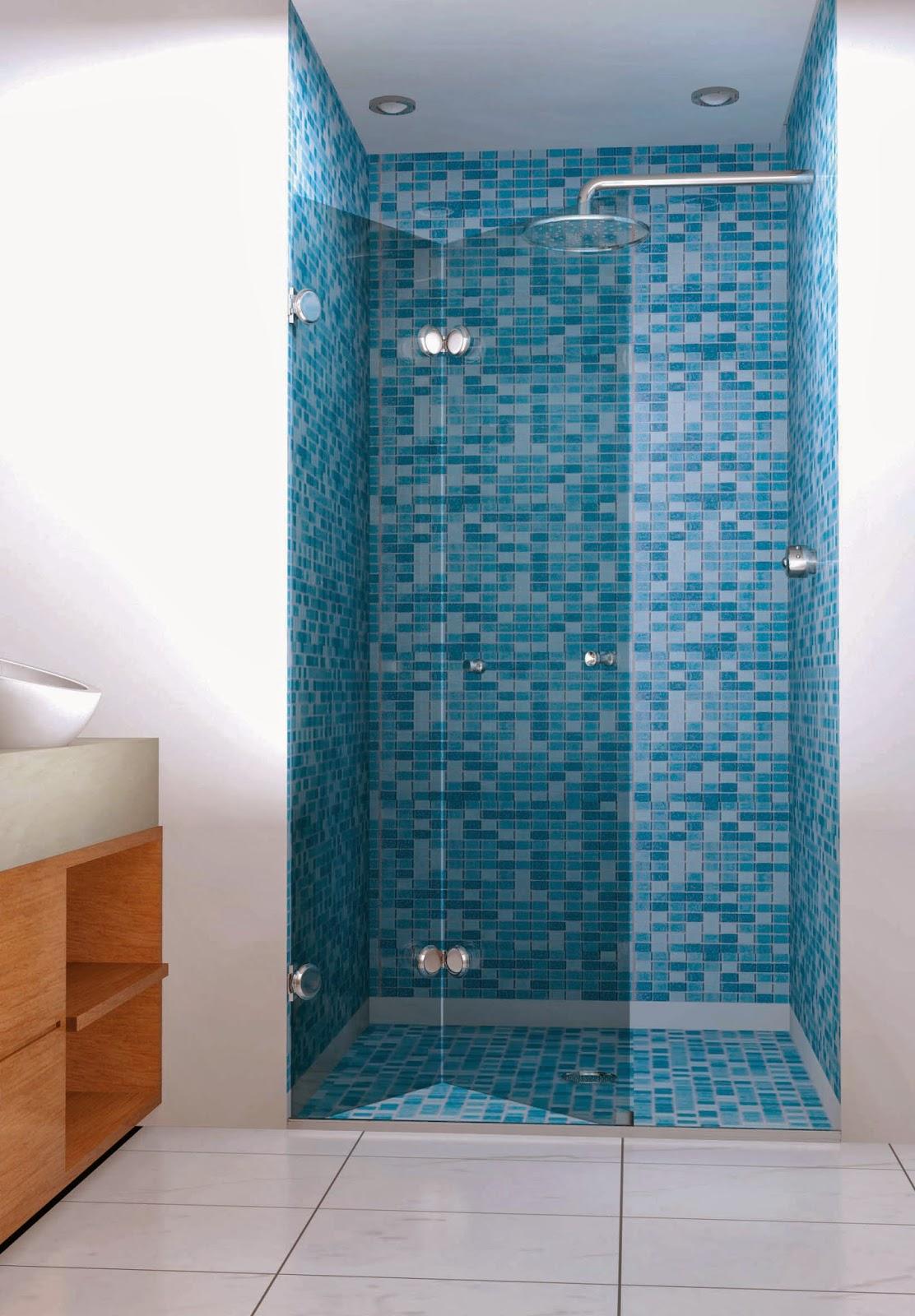 Não fique refém da falta de espaço box em vidro temperado com  #813F18 1112x1600 Banheiro Container Luxo
