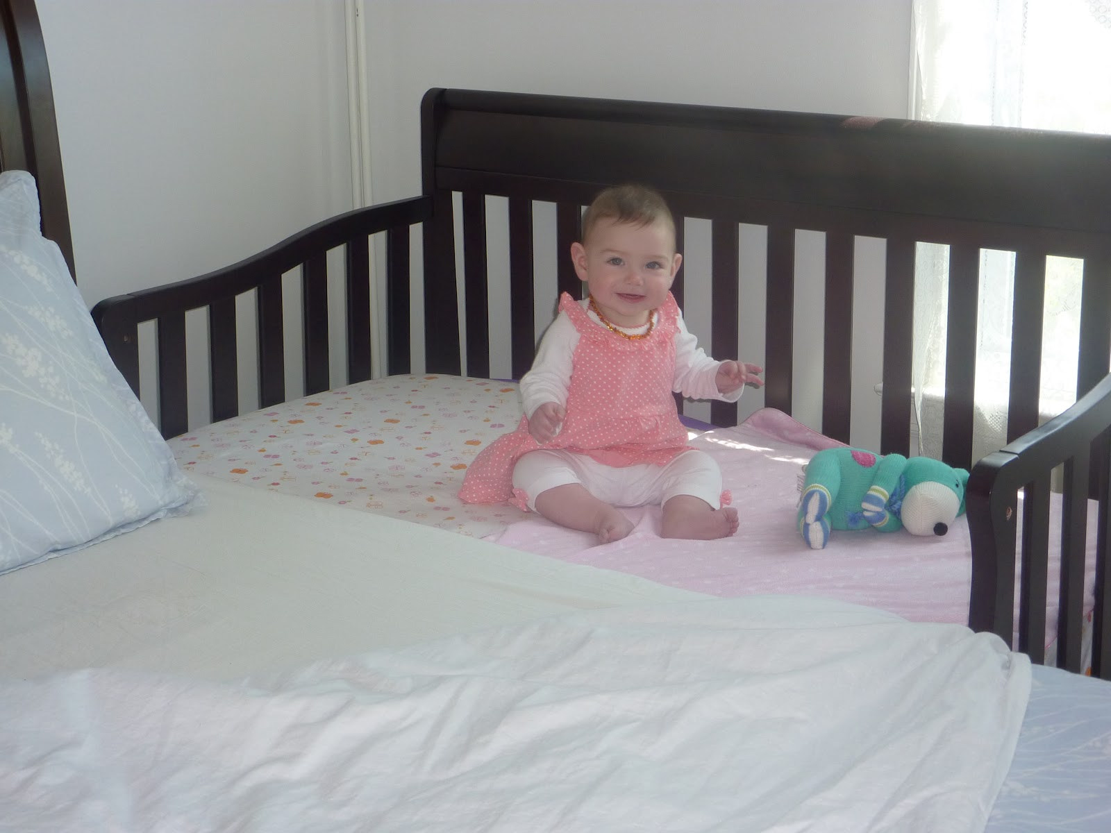 Sidecar Crib Sheet : Crib that connects to bed connected mommys