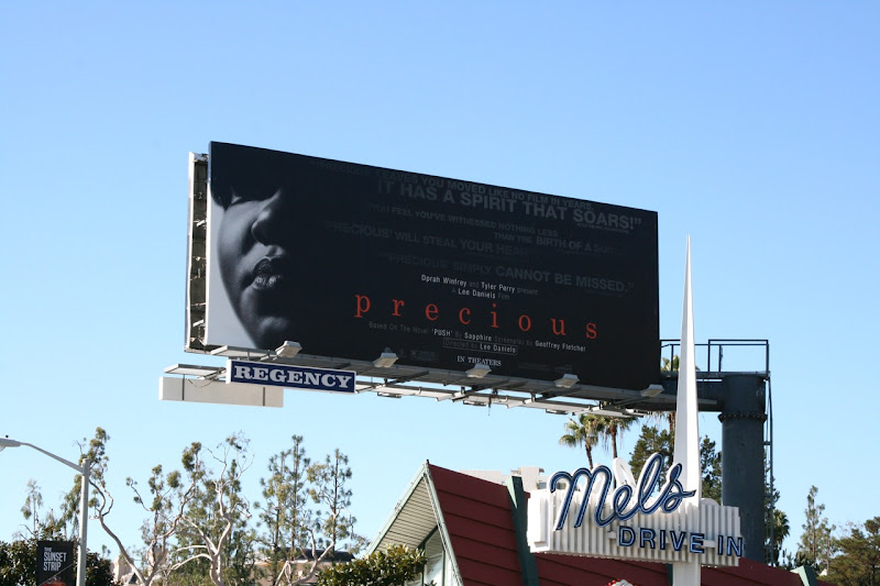 Precious movie billboard