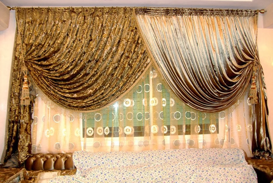 Sewing Curtains Living Room 2014, Living Room Design Ideas With Curtains  Styles