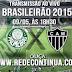 Palmeiras x Atlético MG - 18h30 - Brasileirão - 09/05/15