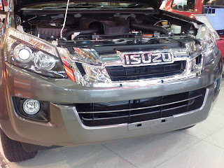isuzu d-max,four wheel drive,new isuzu pickup