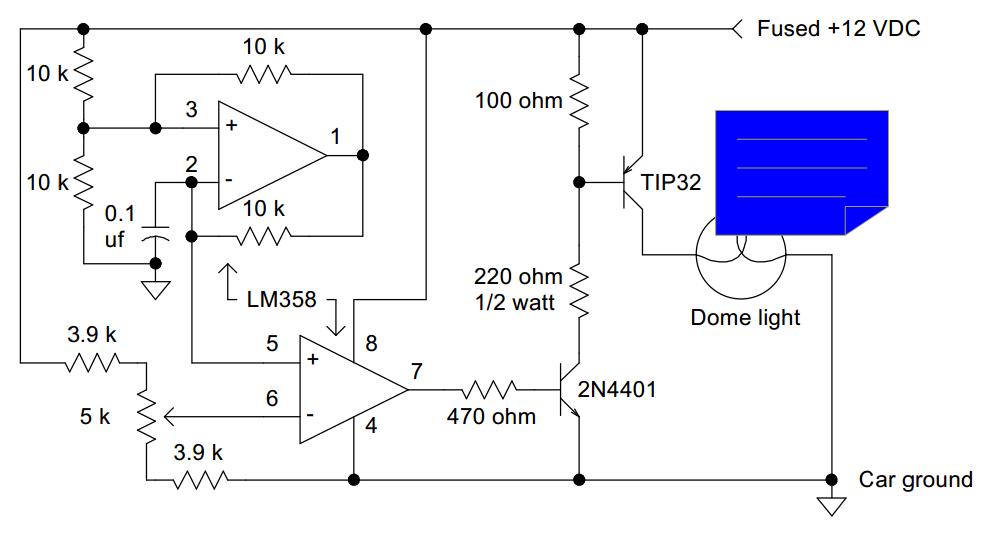Dimmer Circuit Diagram