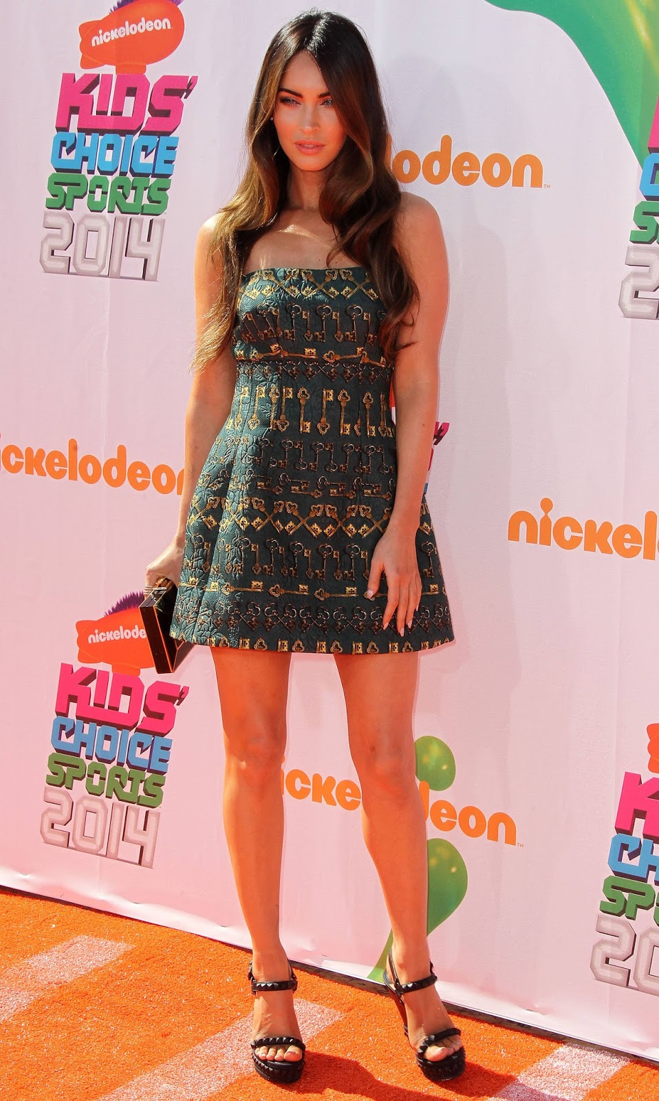 Megan Fox at the Kids Choice Sports Awards - Photos