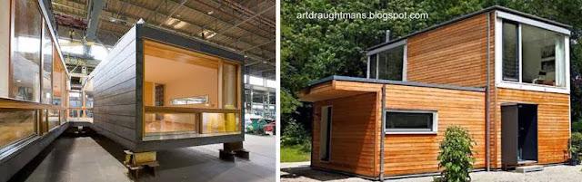 Módulos de madera para viviendas