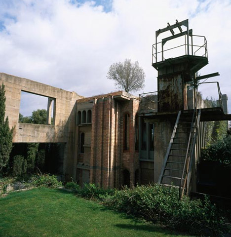 Arthouse old concrete factory converted to modern castle home - Old cement factory turned home ...
