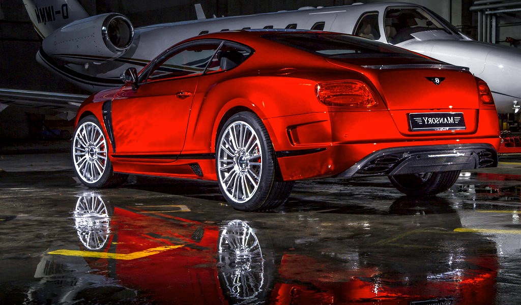 Bentley Continental GT Speed Red