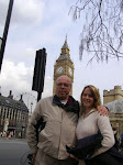 Gary Laws with Daughter, Cathy Turner, Touring London