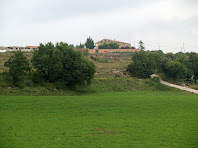 Vilalta des de la cruïlla del Roure Gros amb el carrer dels Àngels de la urbanització de Montví de Baix
