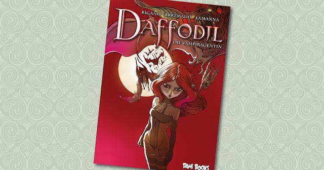Daffodil die Vampiragentin dani books Cover