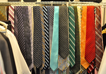 TYPICAL MISSIONARY CLOSET