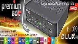 Nova Atualização  PremiumBox P-1099 D-Lux Versão 1.32K -- 05/05/2015