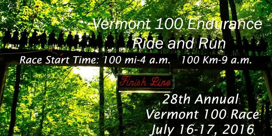 Vermont 100 Endurance Ride and Run