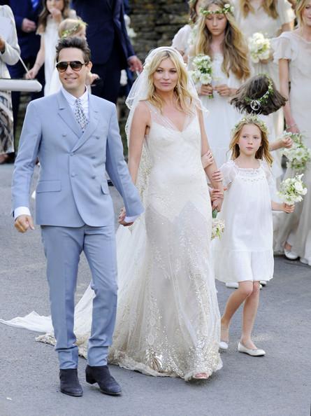Kate Moss 39 John Galliano wedding dress Kristen Stewart 39s Roberto Cavalli
