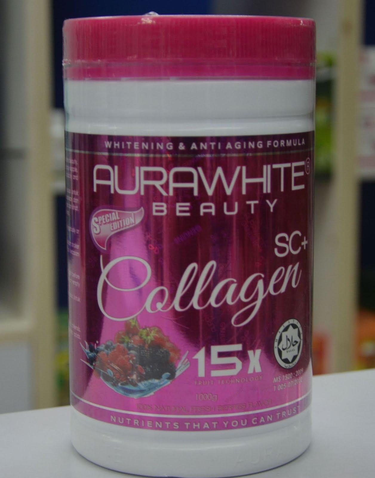 AURA WHITE SC COLLOGEN
