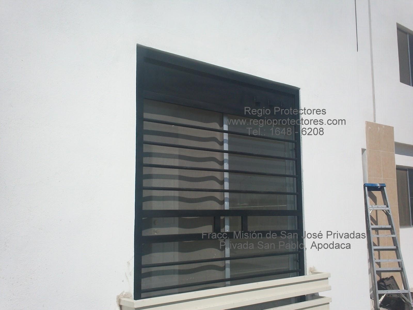 Protectores para ventanas, Fracc. Misión de San José Privadas 02