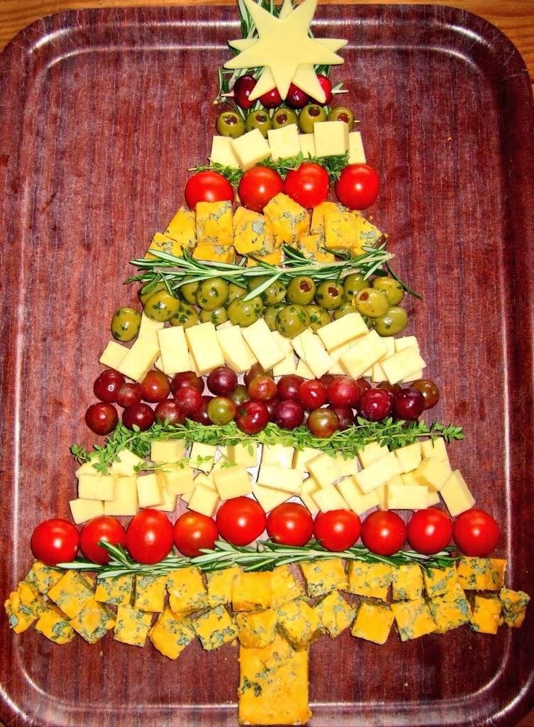 christmas tree charcuterie