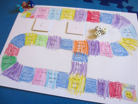A Little Crafty Home Made Board Game