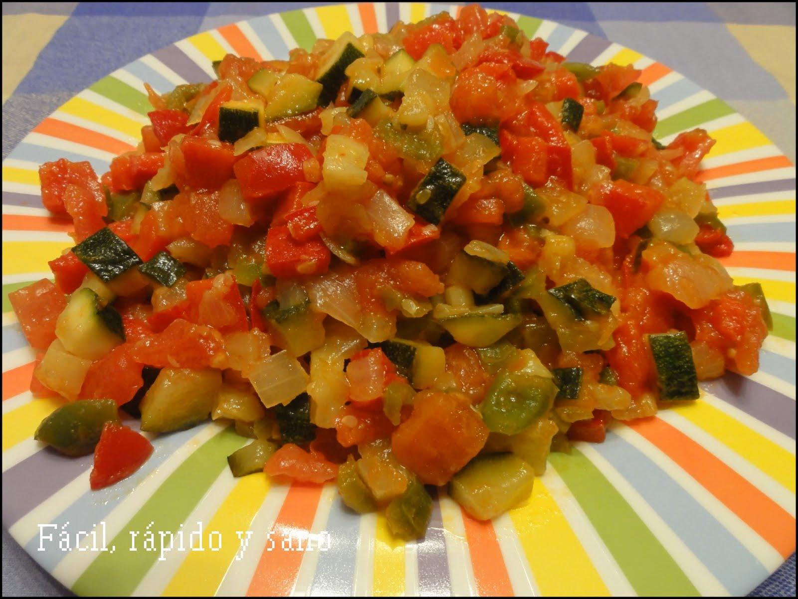 F cil r pido y sano cocina para gente sin tiempo abril 2011 - Cocinar facil y rapido ...