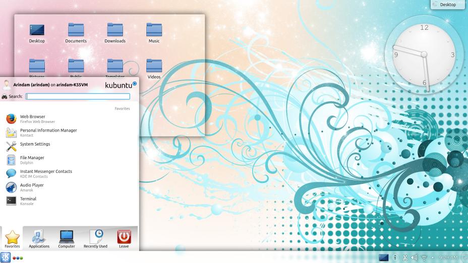 Kubuntu 14.04 LTS apps