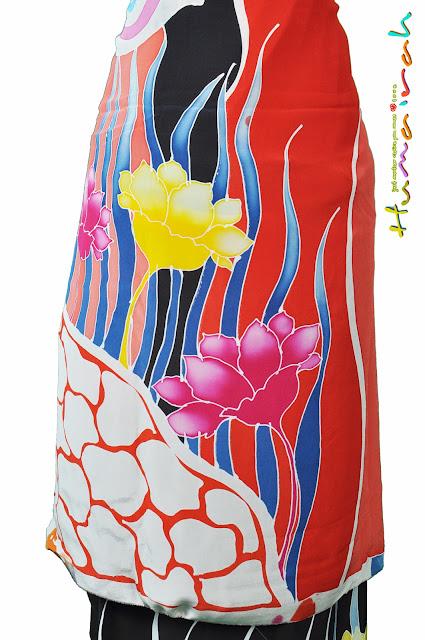 Batik Sutera - Motif Lalang 9