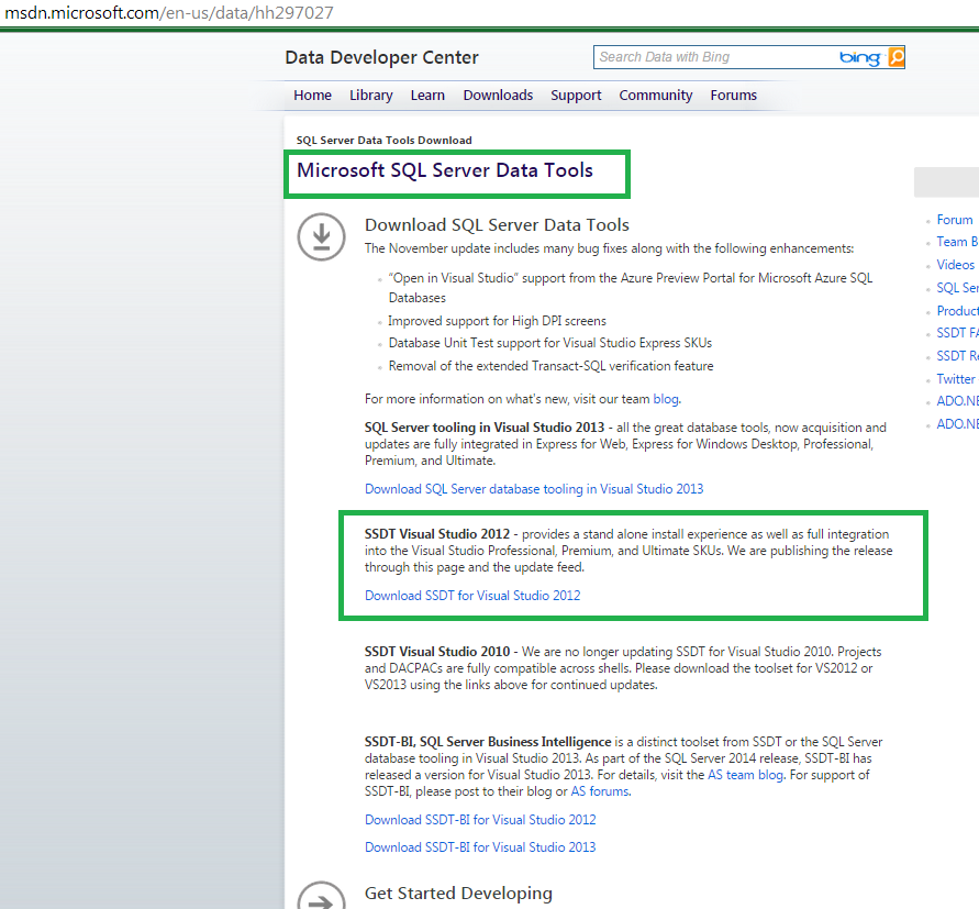 How to fix the Visual Studio 2012 Error   'An incompatible DacFx version is installed' 4