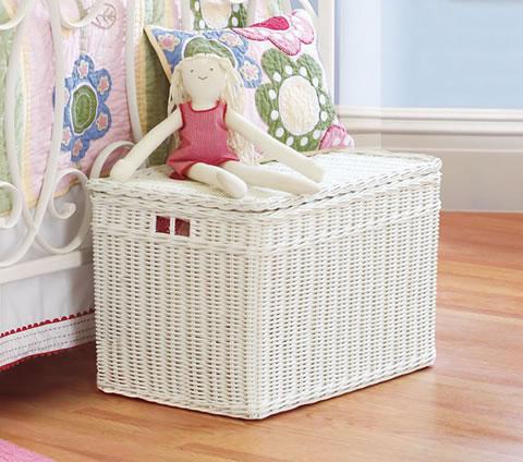 Decoraci n f cil habitacion infantil ordenar juguetes for Decorar baul infantil