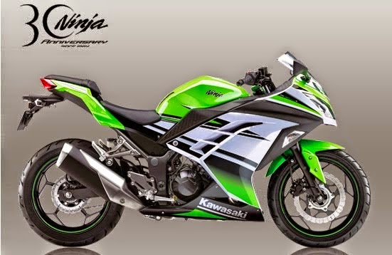 2015 Kawasaki Ninja 250 Special Edition ABS 30th