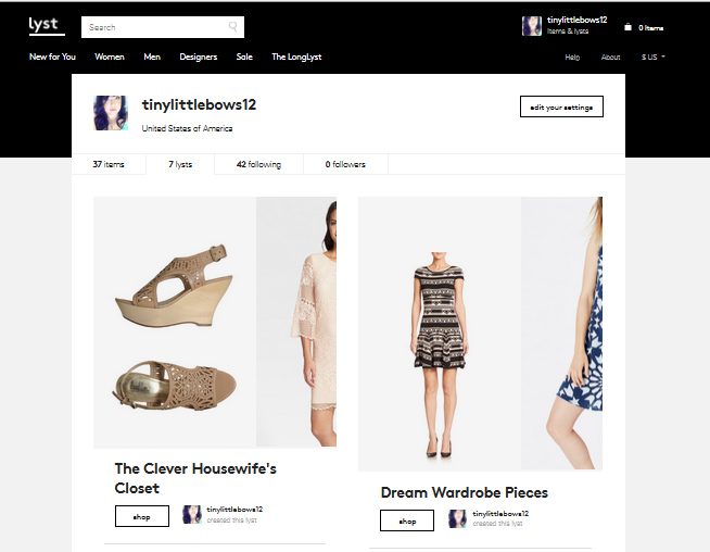 """Lyst: My FAVORITE Way To Shop + The Perfect Beachy """"Grunge"""" Look"""