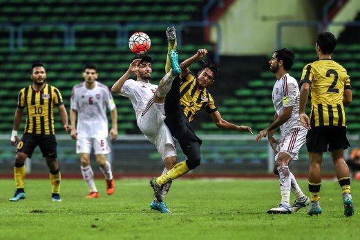 Malaysia lawan UAE